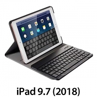 iPad 9.7 (2018) Ultra-Thin Bluetooth Keyboard Case
