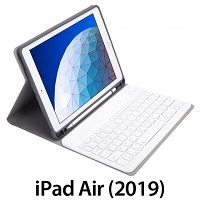 iPad Air (2019) Bluetooth Keyboard Case with Apple Pencil Holder