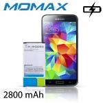 Momax X-Level Battery for Samsung Galaxy S5 - 2800mAh