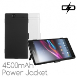 Power Jacket for Sony Xperia Z Ultra - 4500mAh