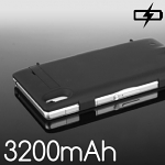 Power Jacket for Sony Xperia Z1 - 3200mAh