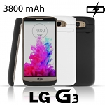 Power Jacket For LG G3 - 3800mAh