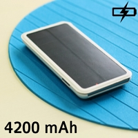 Solar Power Jacket For iPhone 6 Plus - 4200mAh