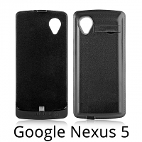 Power Jacket For Google Nexus 5 - 3800mAh