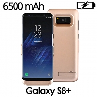 Power Jacket For Samsung Galaxy S8+ - 6500mAh