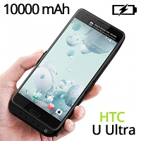 Power Jacket For HTC U Ultra - 10000mAh