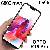 Power Jacket For OPPO R15 PRO - 6800mAh