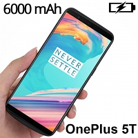Power Jacket For OnePlus 5T - 6000mAh