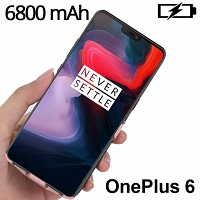 Power Jacket For OnePlus 6 - 6800mAh