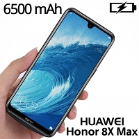 Power Jacket For Huawei Honor 8X Max - 6500mAh