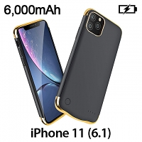 Power Jacket For iPhone 11 (6.1) - 6000mAh