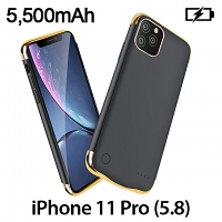Power Jacket For iPhone 11 Pro (5.8) - 5500mAh