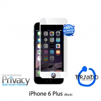 Brando Workshop Full Screen Privacy Glass Protector (iPhone 6 Plus) - White