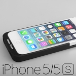 QI Standard Wireless Charging Receiver Case for iPhone 5 / 5s / SE (Back Case)
