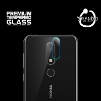 Brando Workshop Premium Tempered Glass Protector (Nokia 6.1 Plus (Nokia X6 (2018)) - Rear Camera)