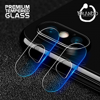 Brando Workshop Premium Tempered Glass Protector (iPhone XS Max 6.5 - Rear Camera)