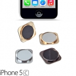 iPhone 5 / 5c Replacement Home Button (Faux iPhone 5s)