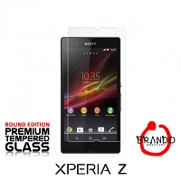 Brando Workshop Premium Tempered Glass Protector (Rounded Edition) (Sony Xperia Z)