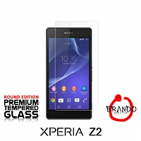 Brando Workshop Premium Tempered Glass Protector (Rounded Edition) (Sony Xperia Z2)