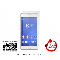 Brando Workshop Premium Tempered Glass Protector (Rounded Edition) (Sony Xperia Z3)
