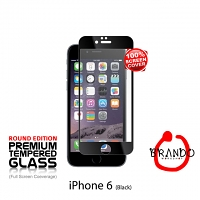 Brando Workshop Full Screen Coverage Glass Protector (iPhone 6) - Black