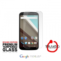 Brando Workshop Premium Tempered Glass Protector (Rounded Edition) (Google Nexus 6)