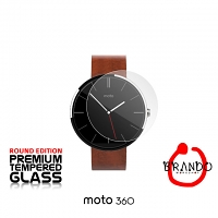 Brando Workshop Premium Tempered Glass Protector (Rounded Edition) (Motorola Moto 360)