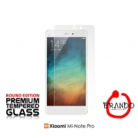Brando Workshop Premium Tempered Glass Protector (Rounded Edition) (Xiaomi Mi Note Pro)