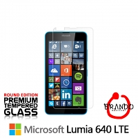 Brando Workshop Premium Tempered Glass Protector (Rounded Edition) (Microsoft Lumia 640 LTE)