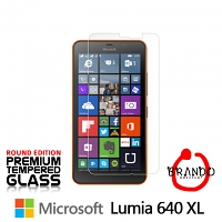 Brando Workshop Premium Tempered Glass Protector (Rounded Edition) (Microsoft Lumia 640 XL)
