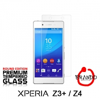 Brando Workshop Premium Tempered Glass Protector (Rounded Edition) (Sony Xperia Z3+ / Z4)