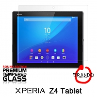 Brando Workshop Premium Tempered Glass Protector (Rounded Edition) (Sony Xperia Z4 Tablet)