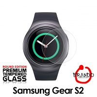 Brando Workshop Premium Tempered Glass Protector (Rounded Edition) (Samsung Gear S2)