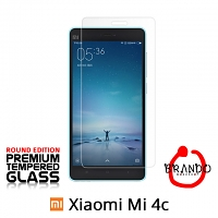 Brando Workshop Premium Tempered Glass Protector (Rounded Edition) (Xiaomi Mi 4c)