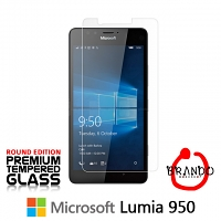 Brando Workshop Premium Tempered Glass Protector (Rounded Edition) (Microsoft Lumia 950)