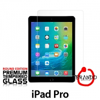 Brando Workshop Premium Tempered Glass Protector (Rounded Edition) (iPad Pro 12.9