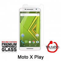 Brando Workshop Premium Tempered Glass Protector (Rounded Edition) (Motorola Moto X Play)