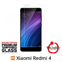 Brando Workshop Premium Tempered Glass Protector (Rounded Edition) (Xiaomi Redmi 4)