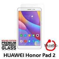 Brando Workshop Premium Tempered Glass Protector (Rounded Edition) (Huawei Honor Pad 2 8.0)