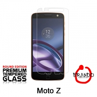 Brando Workshop Premium Tempered Glass Protector (Rounded Edition) (Motorola Moto Z)