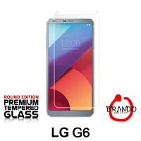 Brando Workshop Premium Tempered Glass Protector (Rounded Edition) (LG G6)
