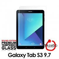 Brando Workshop Premium Tempered Glass Protector (Rounded Edition) (Samsung Galaxy Tab S3 9.7 (T820/T825))