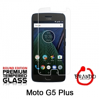 Brando Workshop Premium Tempered Glass Protector (Rounded Edition) (Motorola Moto G5 Plus)