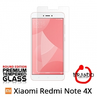 Brando Workshop Premium Tempered Glass Protector (Rounded Edition) (Xiaomi Redmi Note 4X)