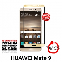 Brando Workshop Full Screen Coverage Glass Protector (Huawei Mate 9) - Gold