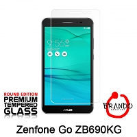 Brando Workshop Premium Tempered Glass Protector (Rounded Edition) (Asus Zenfone Go ZB690KG)