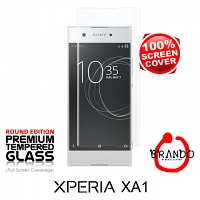 Brando Workshop Full Screen Coverage Glass Protector (Sony Xperia XA1) - Transparent