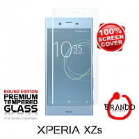 Brando Workshop Full Screen Coverage Glass Protector (Sony Xperia XZs) - Transparent