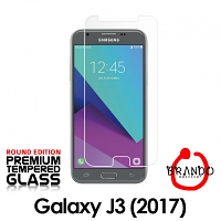 Brando Workshop Premium Tempered Glass Protector (Rounded Edition) (Samsung Galaxy J3 (2017) J3200)