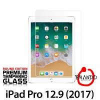 Brando Workshop Premium Tempered Glass Protector (Rounded Edition) (iPad Pro 12.9 (2017) with A10X Fusion)